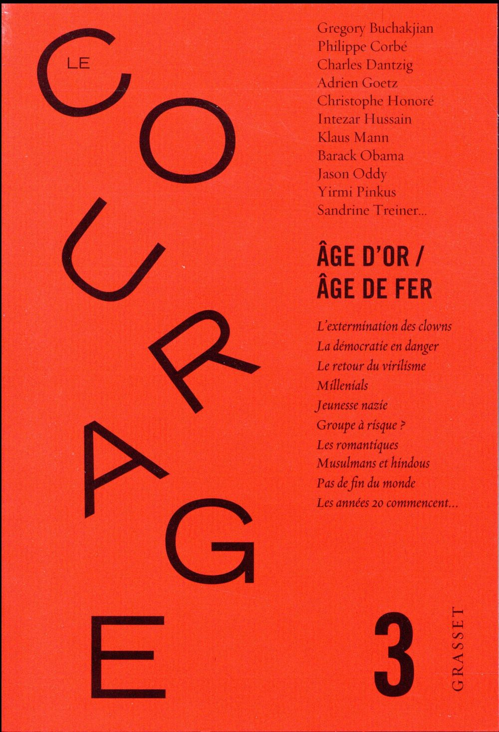 Revue le courage n.3 ; age d'or / age de fer