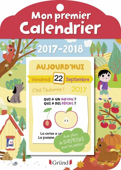 Mon premier calendrier (édition 2017/2018)