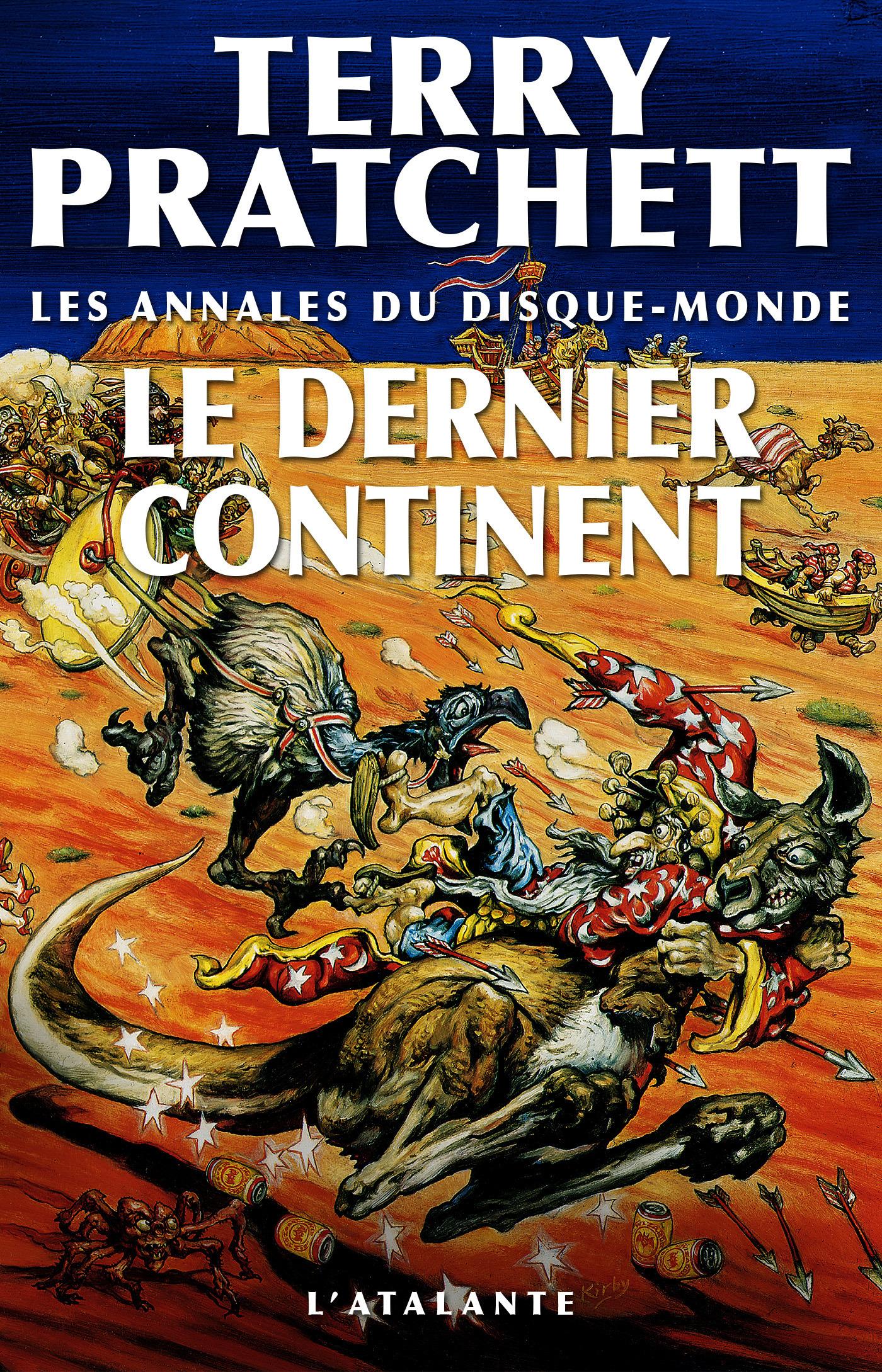 Les annales du Disque-monde T.22 ; le dernier continent