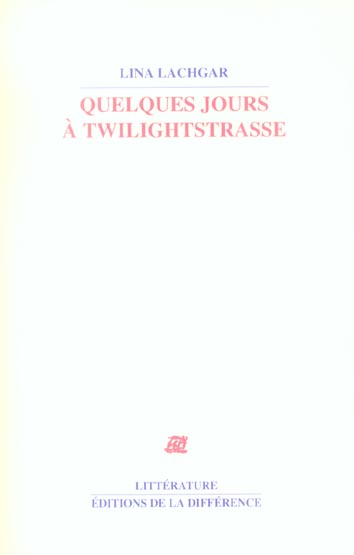 quelques jours a twilightstrasse