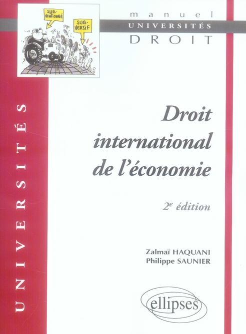 Droit International De L'Economique 2e Edition