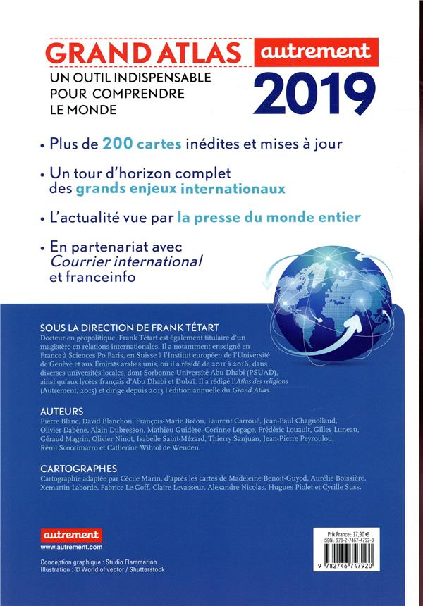 Grand atlas ; comprendre le monde en 200 cartes (édition 2019)