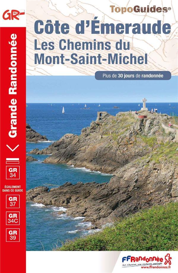 Côte d'émeraude ; chemin du Mont-Saint-Michel
