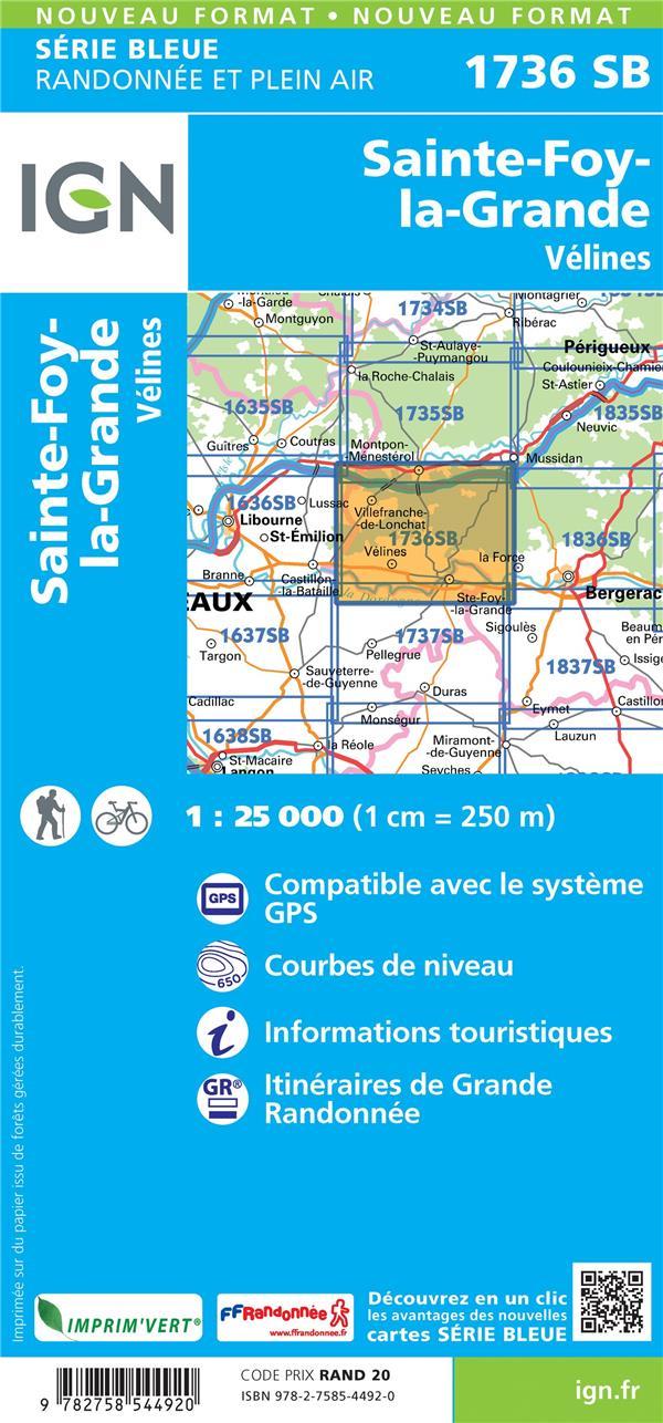 1736SB ; Sainte-Foy-la-Grande