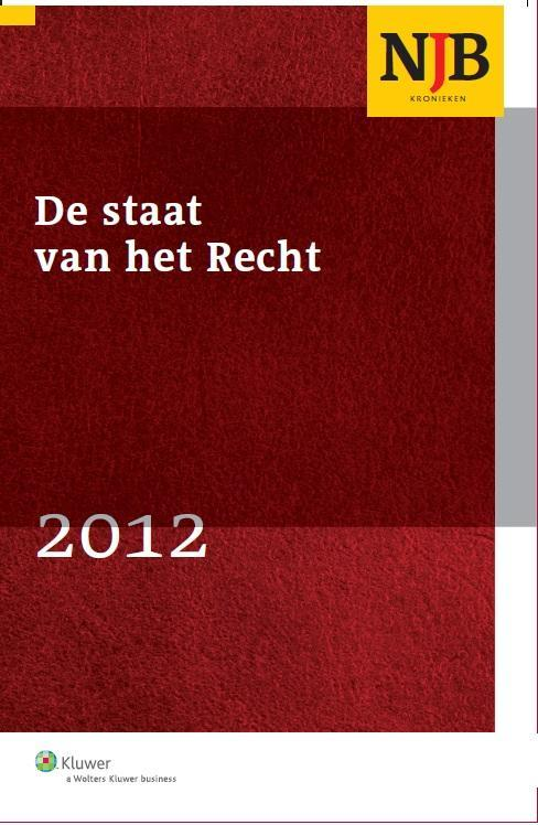 De staat van het recht - 2012-1