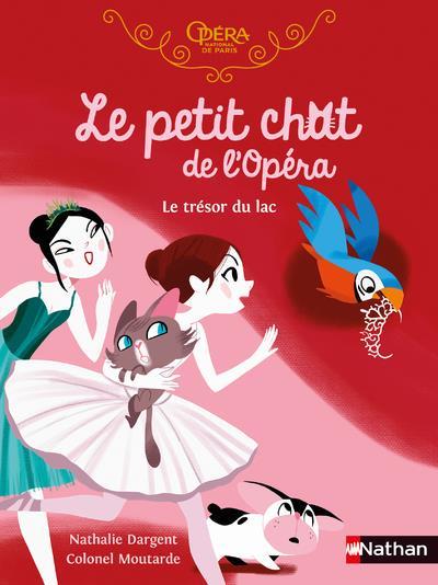 le petit chat de l'opéra : le trésor du lac
