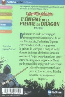 L'apprentie alchimiste t.2 ; l'énigme de la pierre de dragon