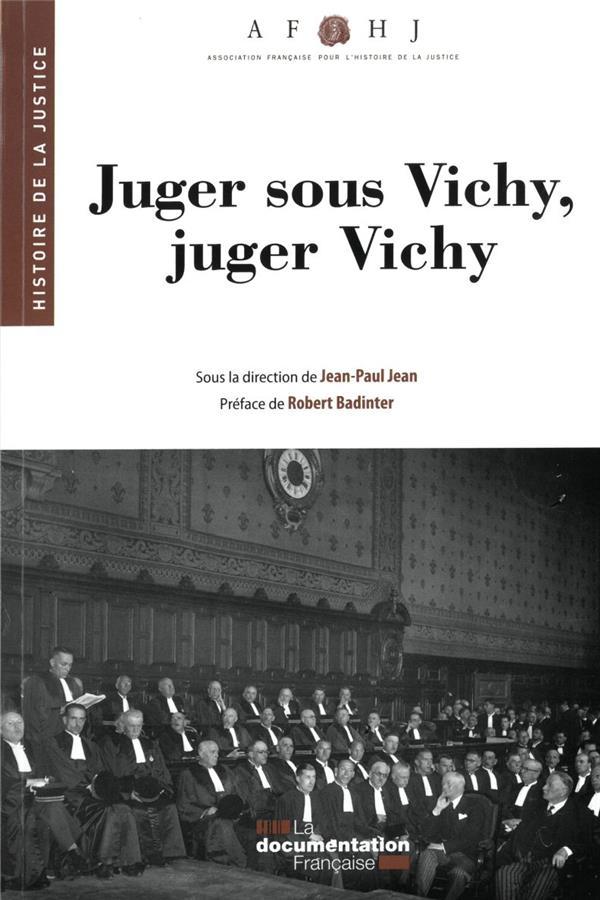 Juger sous Vichy, juger Vichy (29e édition)