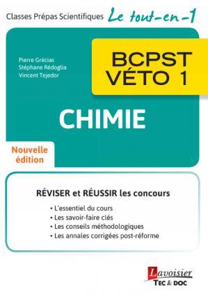 Chimie ; BCPST-véto 1