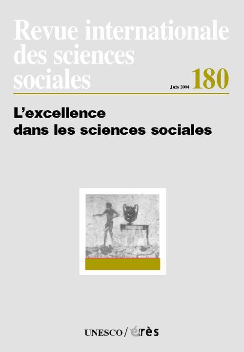 Riss t.180 ; l'excellence dans les sciences sociales