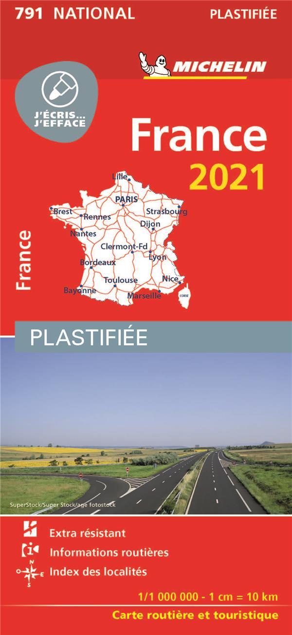 France ; plastifiée (édition 2021)