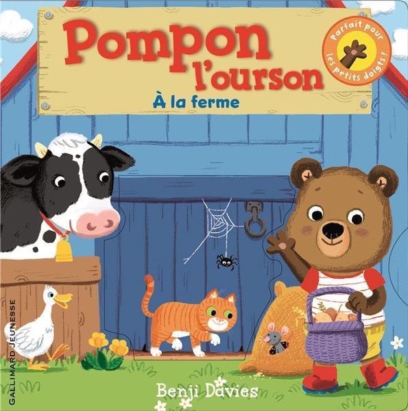 Pompon l'ourson ; à la ferme