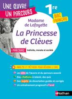 Vente Livre Numérique : La princesse de Clèves ; 1re ; bac de français (édition 2019)  - Madame de LA FAYETTE - Collectif