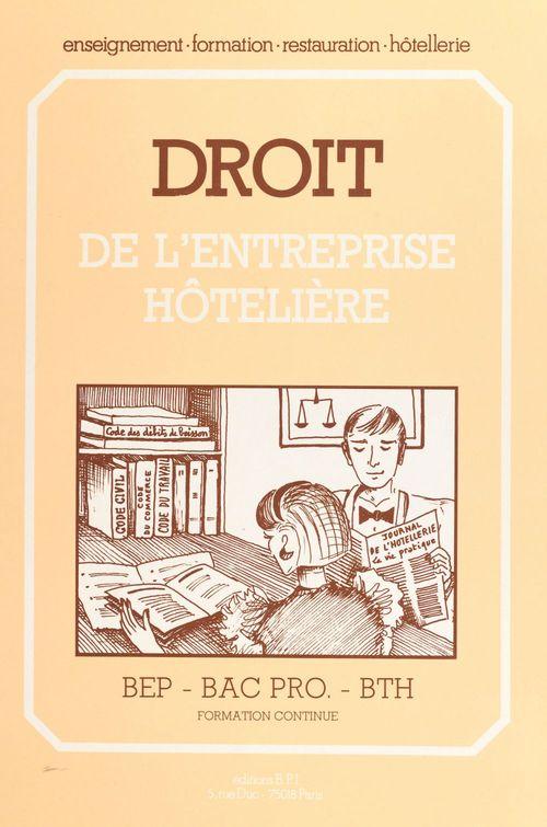Droit de l'entreprise hotelier