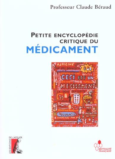 Petite encyclopedie critique du medicament