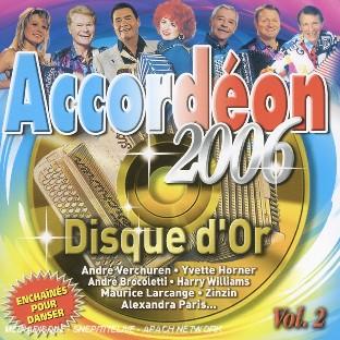 disque d'or accordéon 2006