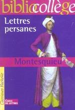 Couverture de Lettres persanes