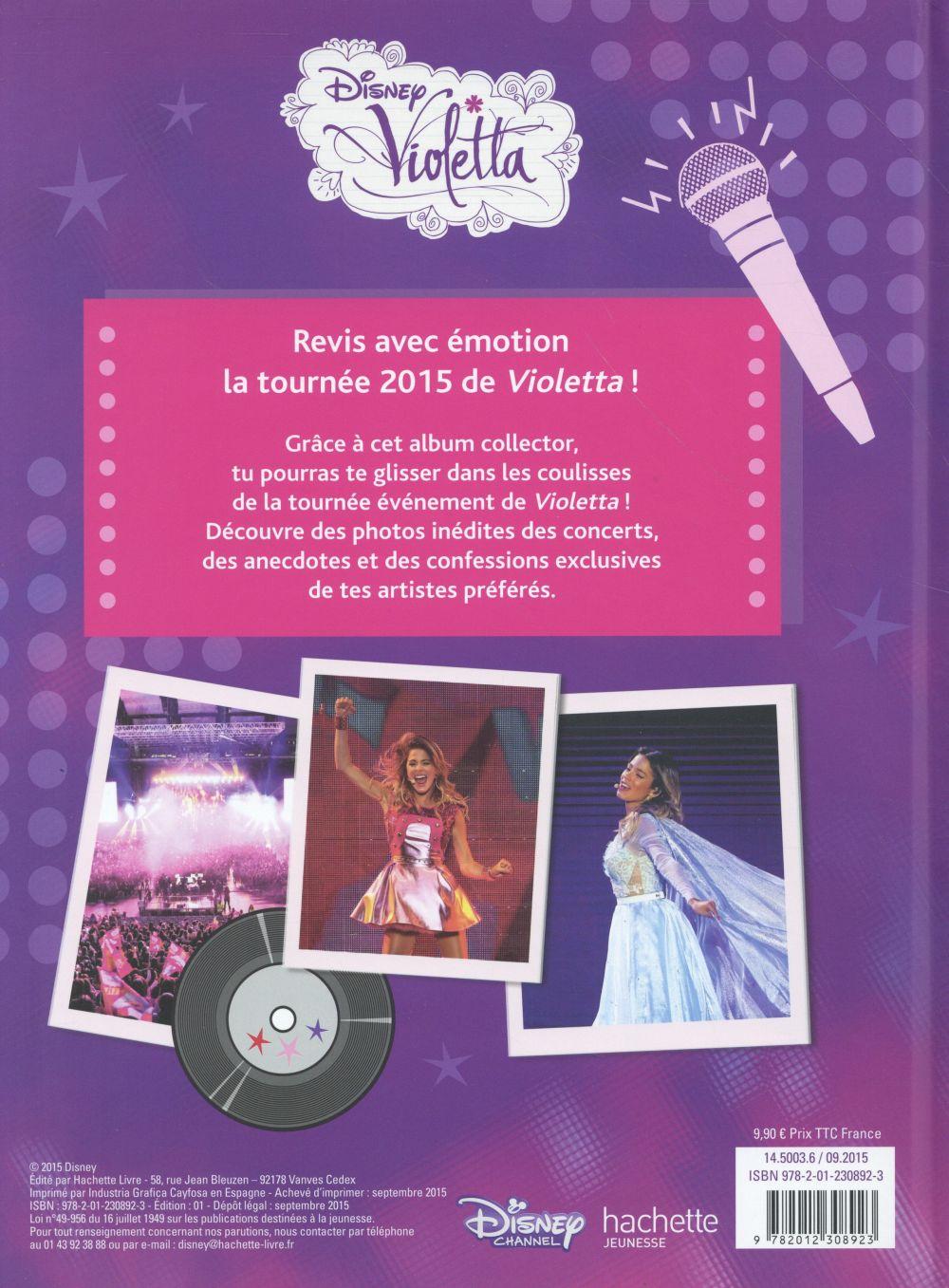 Violetta ; le concert ; tous les secrets des coulisses