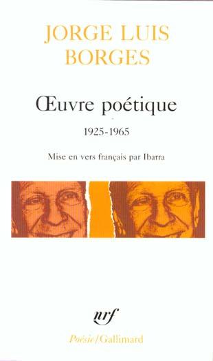 Oeuvre poetique - (1925-1965)
