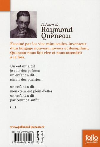 Raymond Queneau poèmes
