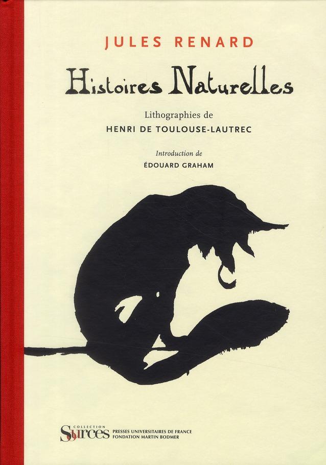 Histoires naturelles ; lithographies de Henri Toulouse-Lautrec