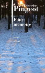 Vente Livre Numérique : Pour mémoire  - Mazarine Pingeot