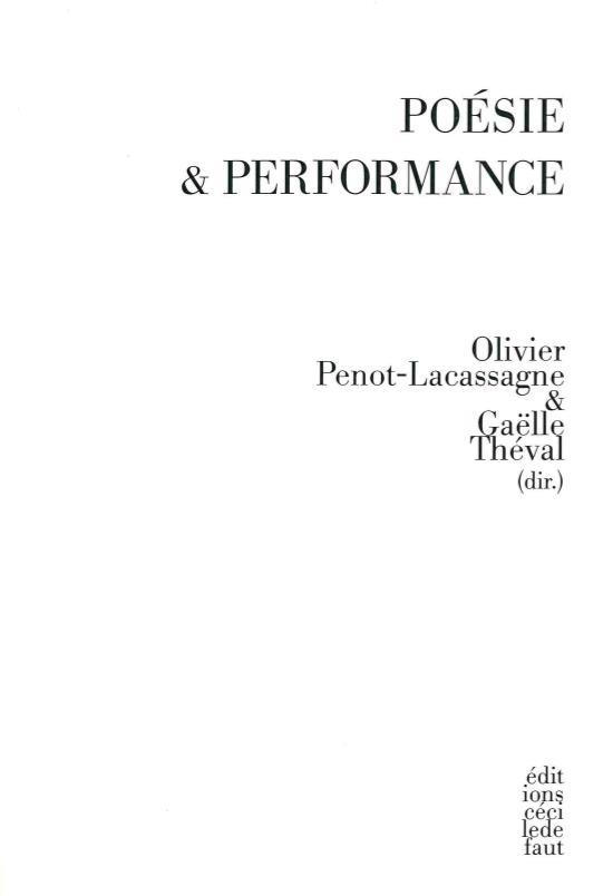 Poésie & performance