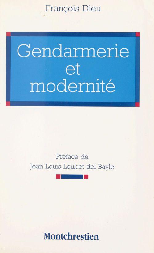 Gendarmerie et modernite