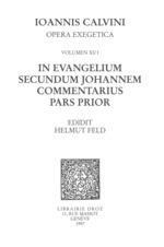 Vente EBooks : In evangelium secundum Johannem Commentarius. Pars prior. Series II, Opera exegetica  - Jean Calvin