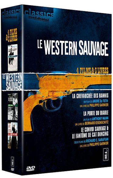 Le Western sauvage - Coffret - La chevauchée des bannis + La porte du diable + Le convoi sauvage + Le fantôme de Cat Dancing