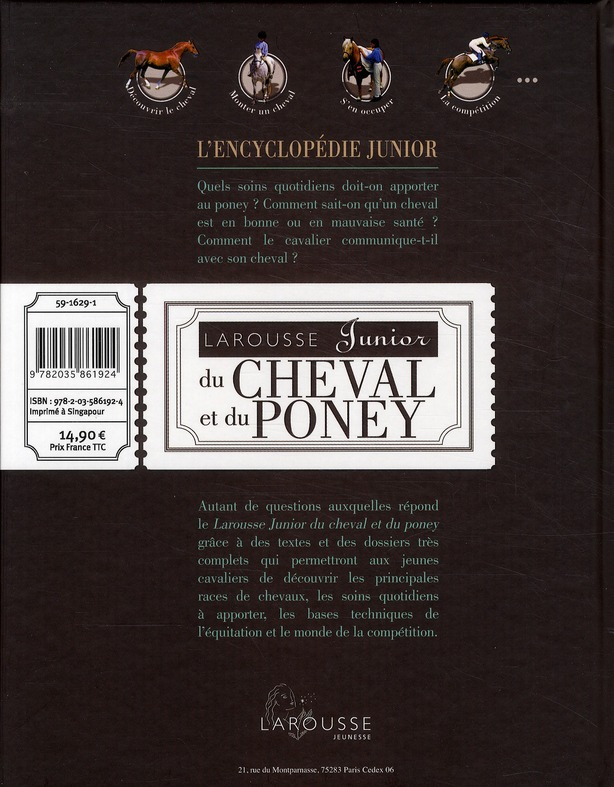Larousse junior du cheval et du poney