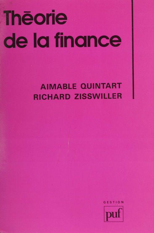 Theorie de la finance