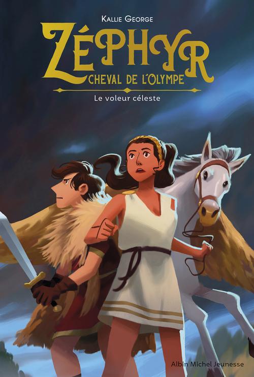 Zéphyr, cheval de l'Olympe- tome 2