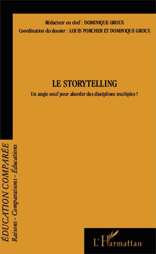 Le storytelling, un angle neuf pour aborder des disciplines mutliples ?