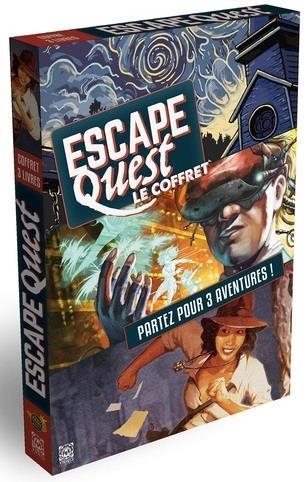 Escape quest ; coffret n.1 a n.3