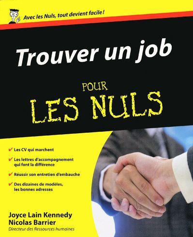 Trouver Un Job Pour Les Nuls