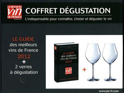 Coffret degustation La Revue du vin de France ; guide vert (édition 2012)