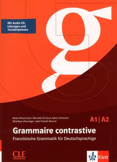 grammaire contrastive ; allemand ; A1/A2 (édition 2017)