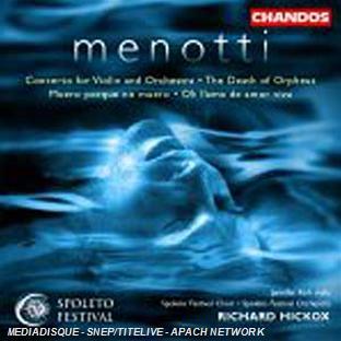 Concerto Pour Violon - The Death Of Orpheus - Oh Llama De Amor Viva...