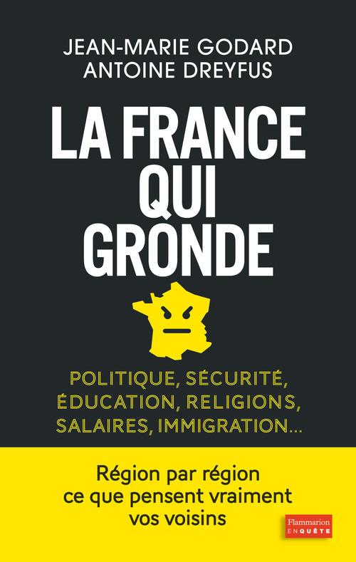 La France qui gronde ; politique, sécurité, éducation, religions, salaires, immigration...