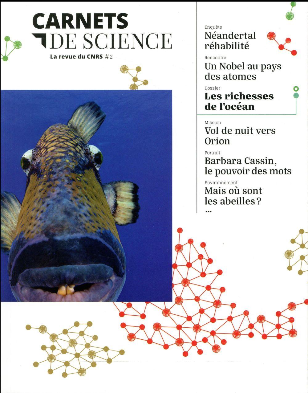 Carnets de science ; la revue du cnrs n.2