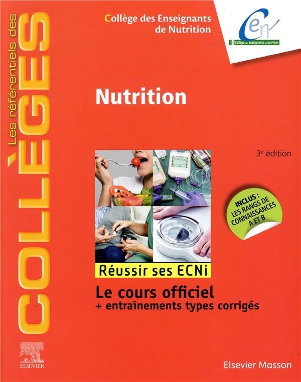 Nutrition ; réussir les ECNi (3e édition)
