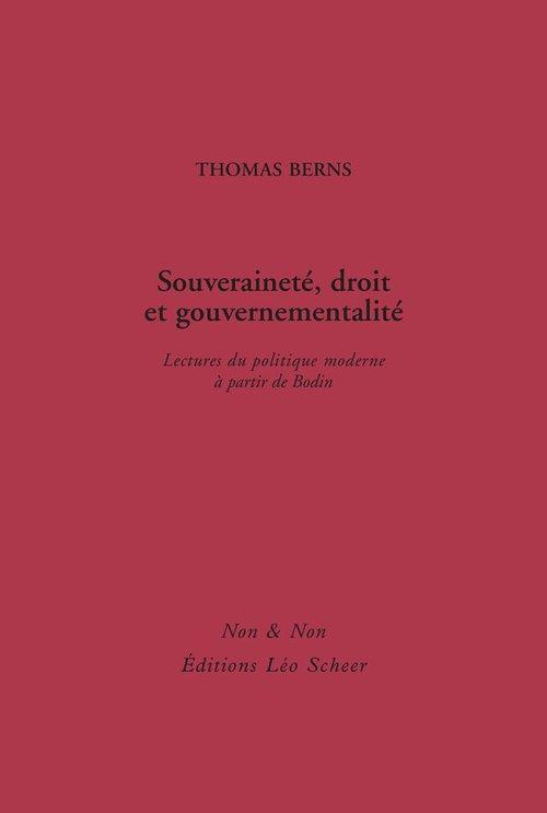 Souveraineté, droit et gouvernementalité