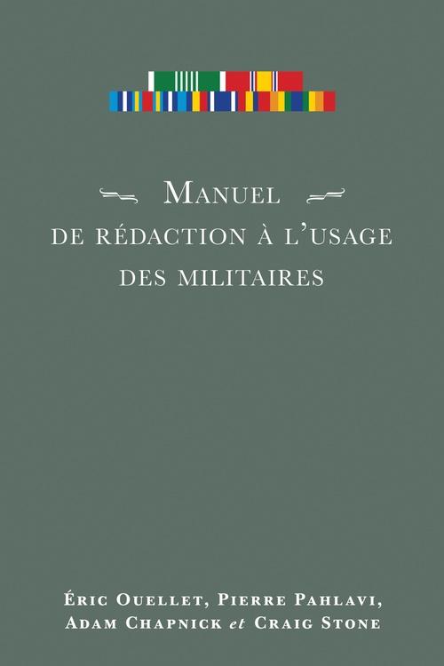 Manuel de redaction a lausage des militaires