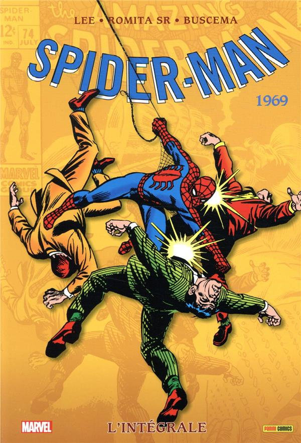 Spider-Man ; INTEGRALE VOL.7 ; 1969