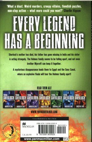 NIGHT BREAK - YOUNG SHERLOCK HOLMES: BOOK 8