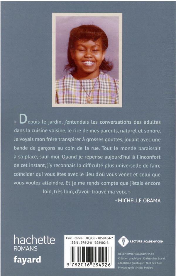 devenir - Michelle Obama : édition à destination de la nouvelle génération