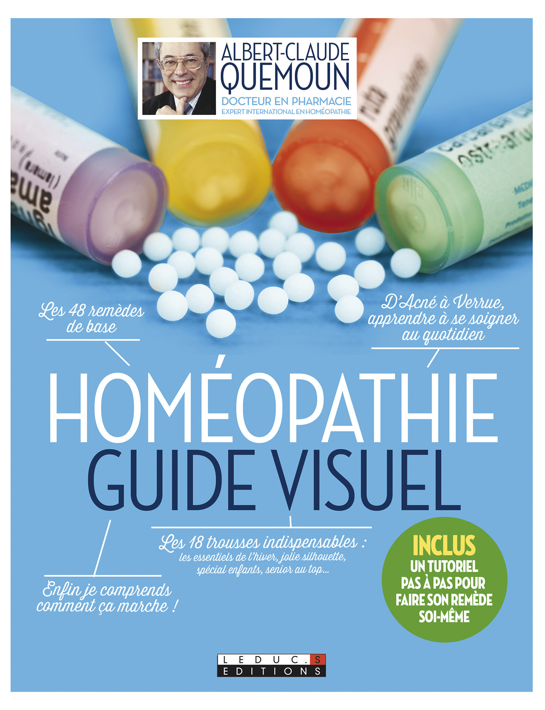 Homéopathie ; guide visuel