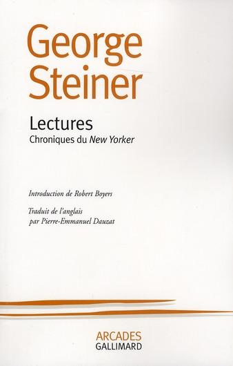 Lectures ; chroniques du New Yorker