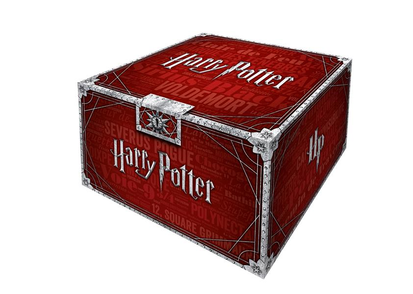 Harry Potter ; coffret collector ; t.1 à t.7